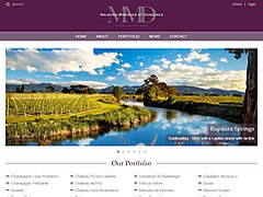 responsive design, media queries & mobile development on the MMD / Louis Roederer Champagne website